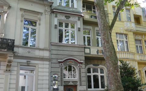 Art Nouveau building Bonn-Weststadt