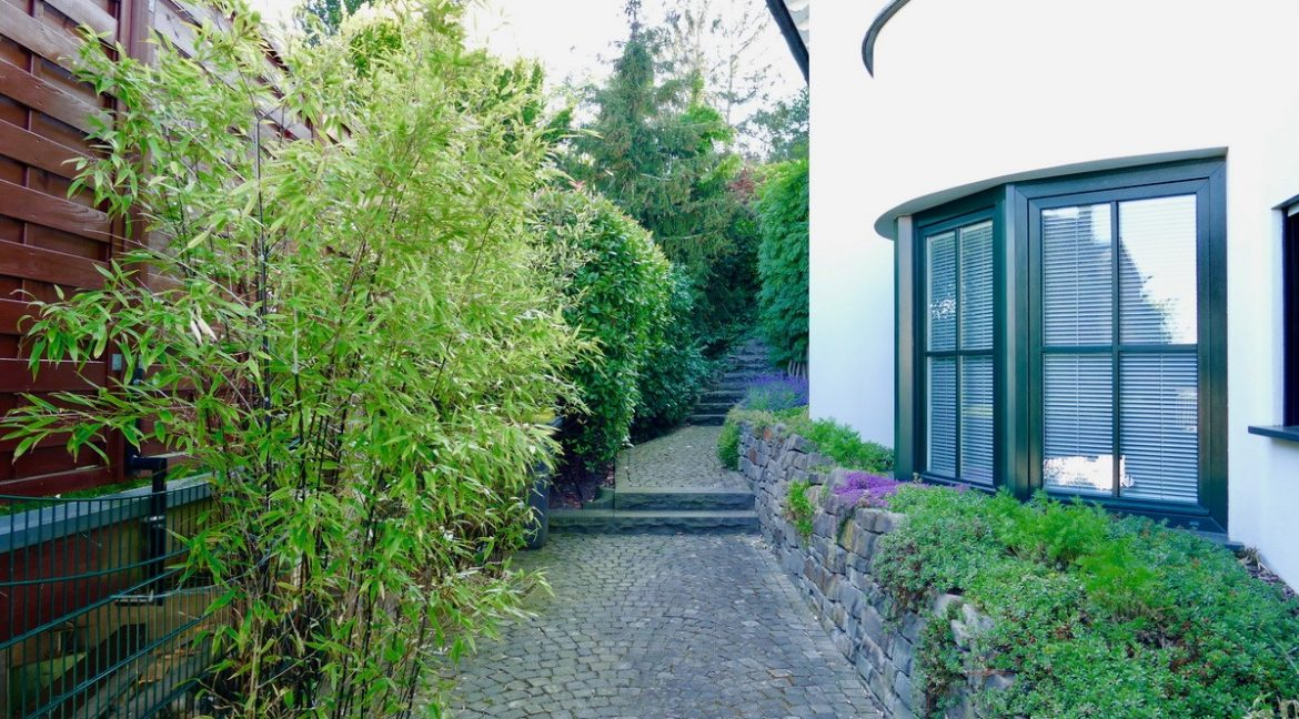 Access road to the garden