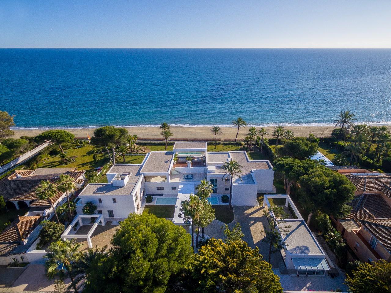 SOLD! Unique gem right on the beach - villa for sale near Estepona